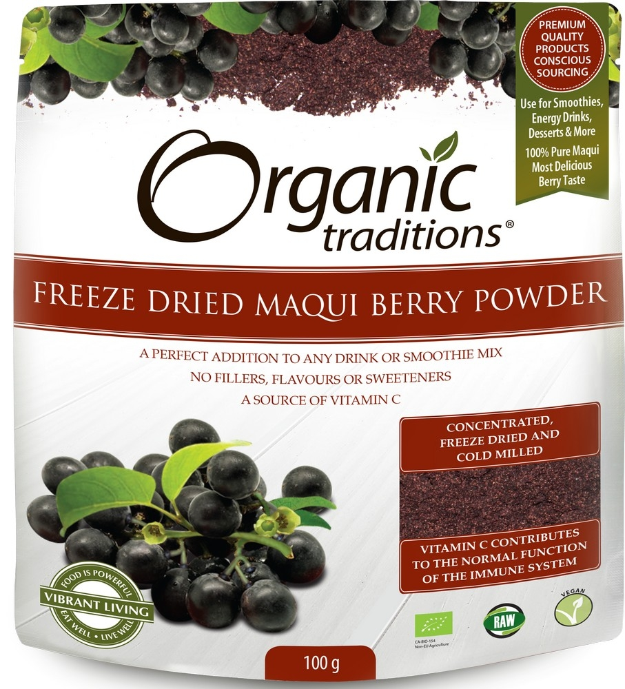 Buy Organic Freez Dried Maqui Berry Powder Kinetic4health