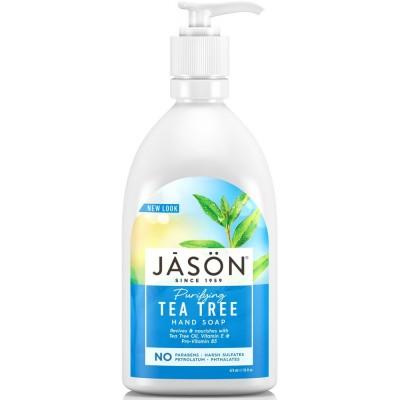 Tea Tree Liquid Satin Soap Pump
