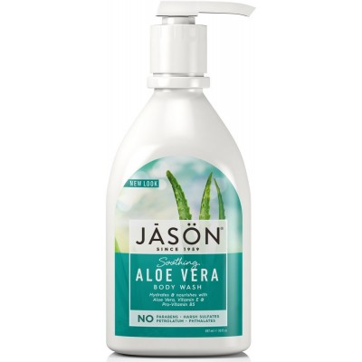 Aloe Vera Satin Body Wash Pump