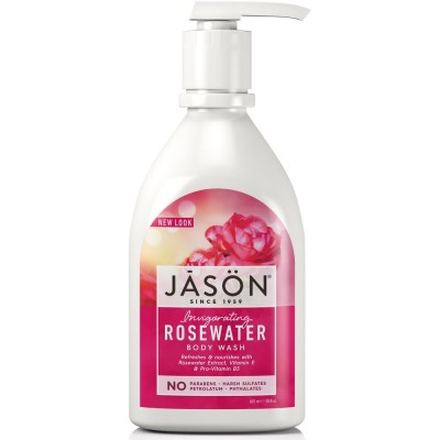 Rosewater Satin Body Wash Pump