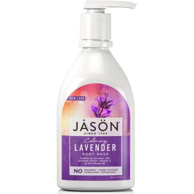 Lavender Satin Body Wash Pump