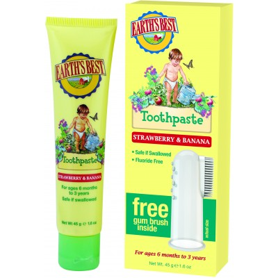 Toddler Toothpaste - Strawberry & Banana