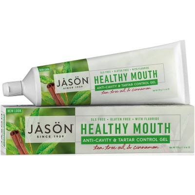 Healthy CoQ10 Anti-Cavity & Tartar Control Toothpaste with Fluoride