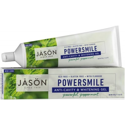 Powersmile CoQ10 Anti-Cavity & Whitening Toothpaste with Fluoride
