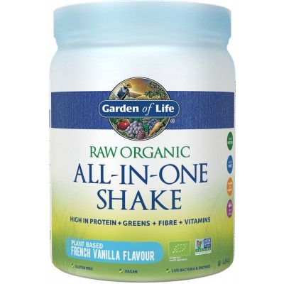 Raw Organic All-in-One Shake Vanilla