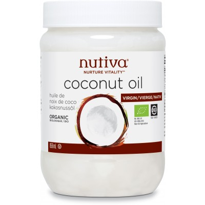 Coconut Oil - Nutiva - Brands