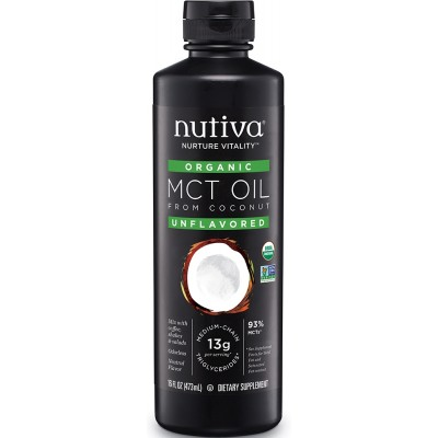 Organic MCT Oil 93% (473ml)