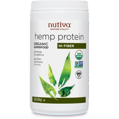 Hemp Protein Powder + Fiber