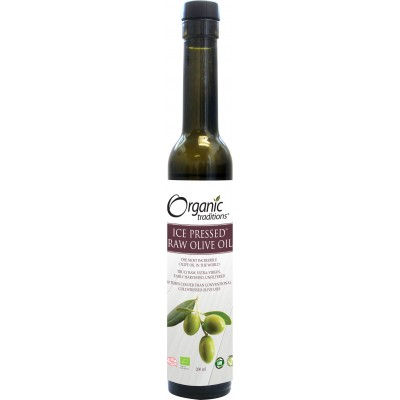 Organic Ice Pressed Raw Olive Oil