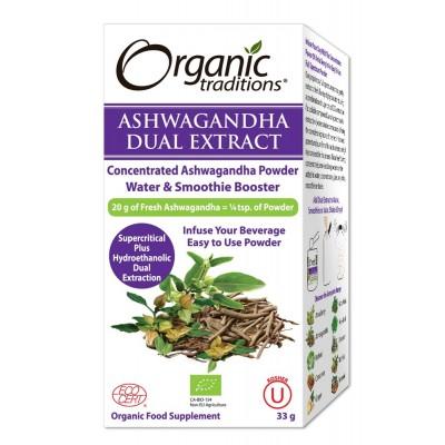 Organic Dual Extract Ashwagandha