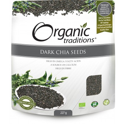 Organic Chia Seeds Dark