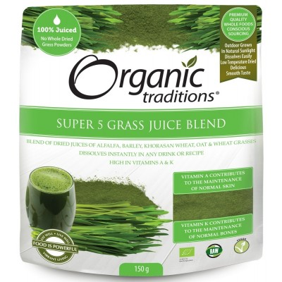 Organic Super 5 Grass Juice Blend