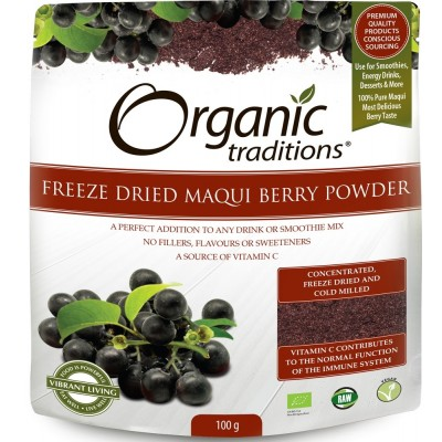 Organic Freez Dried Maqui Berry Powder