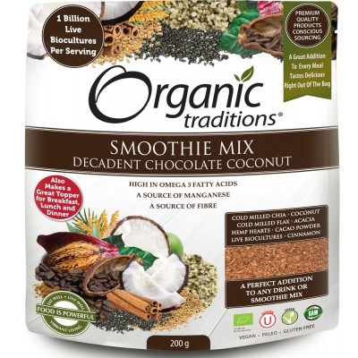Organic Decadent Chocolate with Probiotics