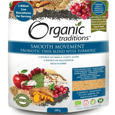 Organic Smooth Move Fibre Blend with Probiotics
