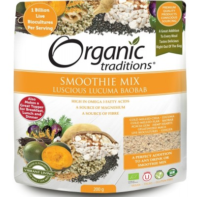 Organic Luscious Lucuma with Probiotics