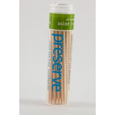 Preserve Toothpicks-Mint Tea Tree