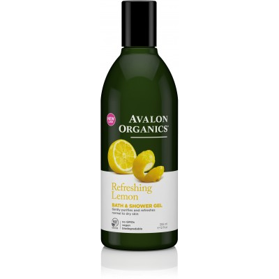 Lemon Bath and Shower Gel