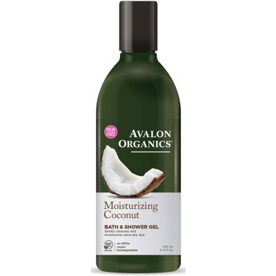 Coconut Moisturizing Bath and Shower Gel