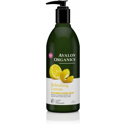 Lemon Glycerin Hand Soap