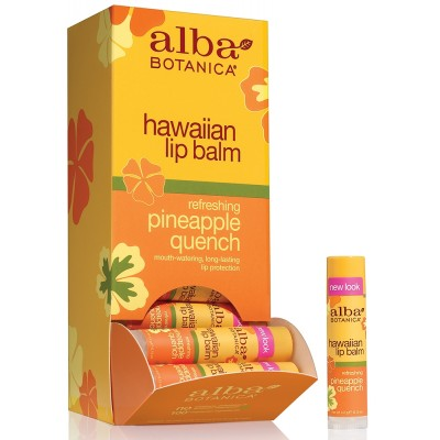 Hawaiian Lip Balm Pineapple 24pk