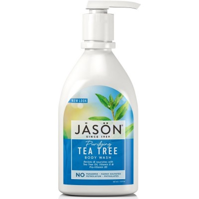 Tea Tree Satin Body Wash Pump