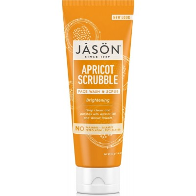 Apricot Facial Wash & Scrub