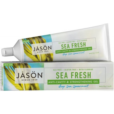 Sea Fresh CoQ10 Anti-Cavity & Strengthening Toothpaste with Fluoride