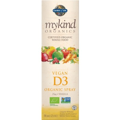 mykind Organic Vegan D3 Spray